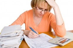 tax forms paperwork