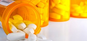 11927463 prescription medicine spilling from open bottles 300x142 New Obesity Drug Could Launch in U.S. Before 2015