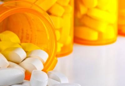 prescription pills in bottles