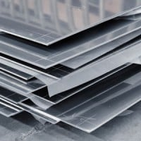 16003501 solid steel aluminum plates 200x200 AK Steel Slumps on Larger Loss, Guidance