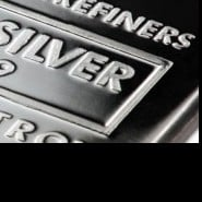 16366727 silver bar e1311083907179 Gold, Silver Give Back Recent Gains
