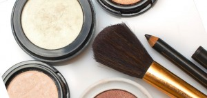 Makeup brush and beauty supplies