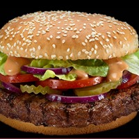 McDonalds Israel Burger 630 McDonalds 200x200 Wendy's Revamps Its Menu and Marketing
