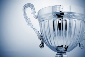 Silver cup trophy 630