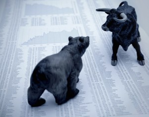 bear v bull 630 iStockphoto 300x235 3 Bear Market Funds to Profit From Pain