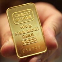 gold in hand 630 200x200 Gold Rises on Federal Reserve Expectations
