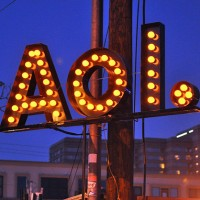 AOL in lights 630 200x200 AOL: Earnings Beat Forecast, Shares Rise