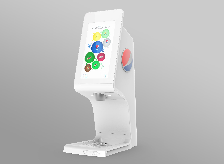 pepsi dispenser machine