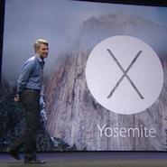 wwdc 2014 was OSX Yosemite reveal