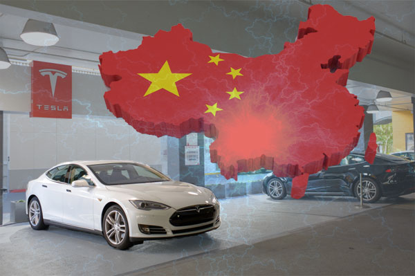 Tesla Motors Electric Cars Sales Strategy in Chinese Market