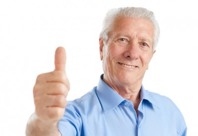 senior retirement thumbs up 630 ISp