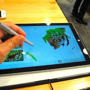 Surface Pro 3 Review, nice pen
