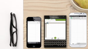 blackberry passport 300x168 BBRY Stock   Will the Weird BlackBerry Passport Catch On?