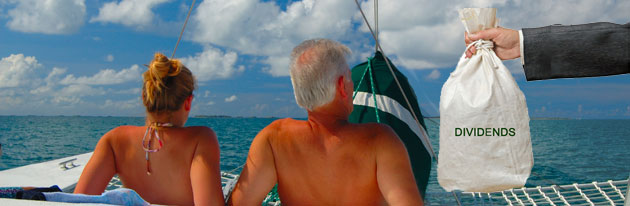 enjoy retirement income from monthly dividend stocks