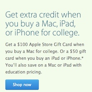 back to school supplies apple deal