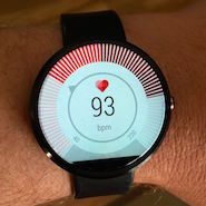 Moto 360 review, fitness tracker