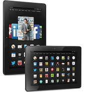 Kindle Fire driving amazon tablet sales