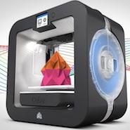 Cube 3D Printer review, 3D printer promo shot