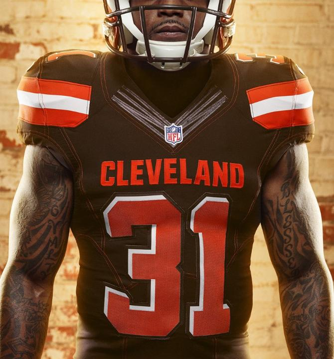 7a963b6b3 NFL News  The New Cleveland Browns Uniforms Are Here