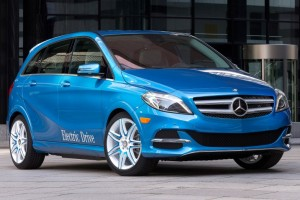 Mercedes b class electric vehicle