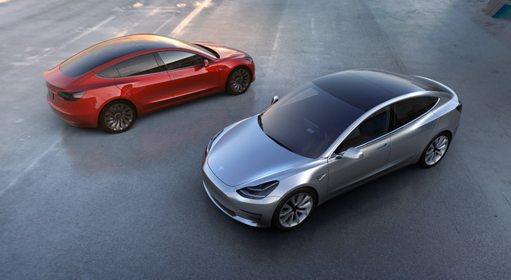 "tsla - Tesla Motors Inc: Tesla Stock Roars With Model 3 ""iPhone Moment"""