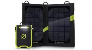 10 Best Tech Gadgets to Take to the Beach: Goal Zero Venture 30 Solar Recharging Kit