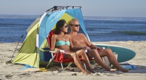 10 Best Tech Gadgets to Take to the Beach: Lightspeed Quick Shelter Beach Tent