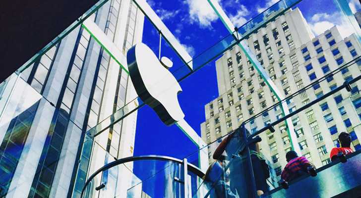 Top Sector Stocks- Consumer Goods: Apple (AAPL)