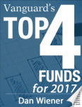 Vanguard's Top 4 Funds for 2017
