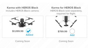 GoPro Karma drone is coming soon in 2017