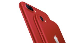 Apple Inc. (AAPL) red iPhone