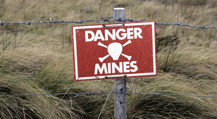 land mines - The 7 Biggest Land Mines in Your Portfolio Right Now