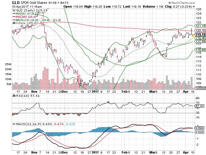 SPDR Gold Trust (ETF) (GLD)