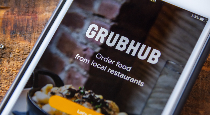 GRUB stock - GrubHub Inc Stock Delivers a Feast for Bulls