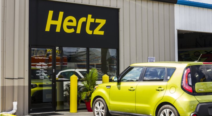 20 Short-Squeeze Stocks: Hertz (HTZ)