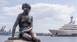Why Is Denmark's Iconic Little Mermaid Statue Being Painted Red?