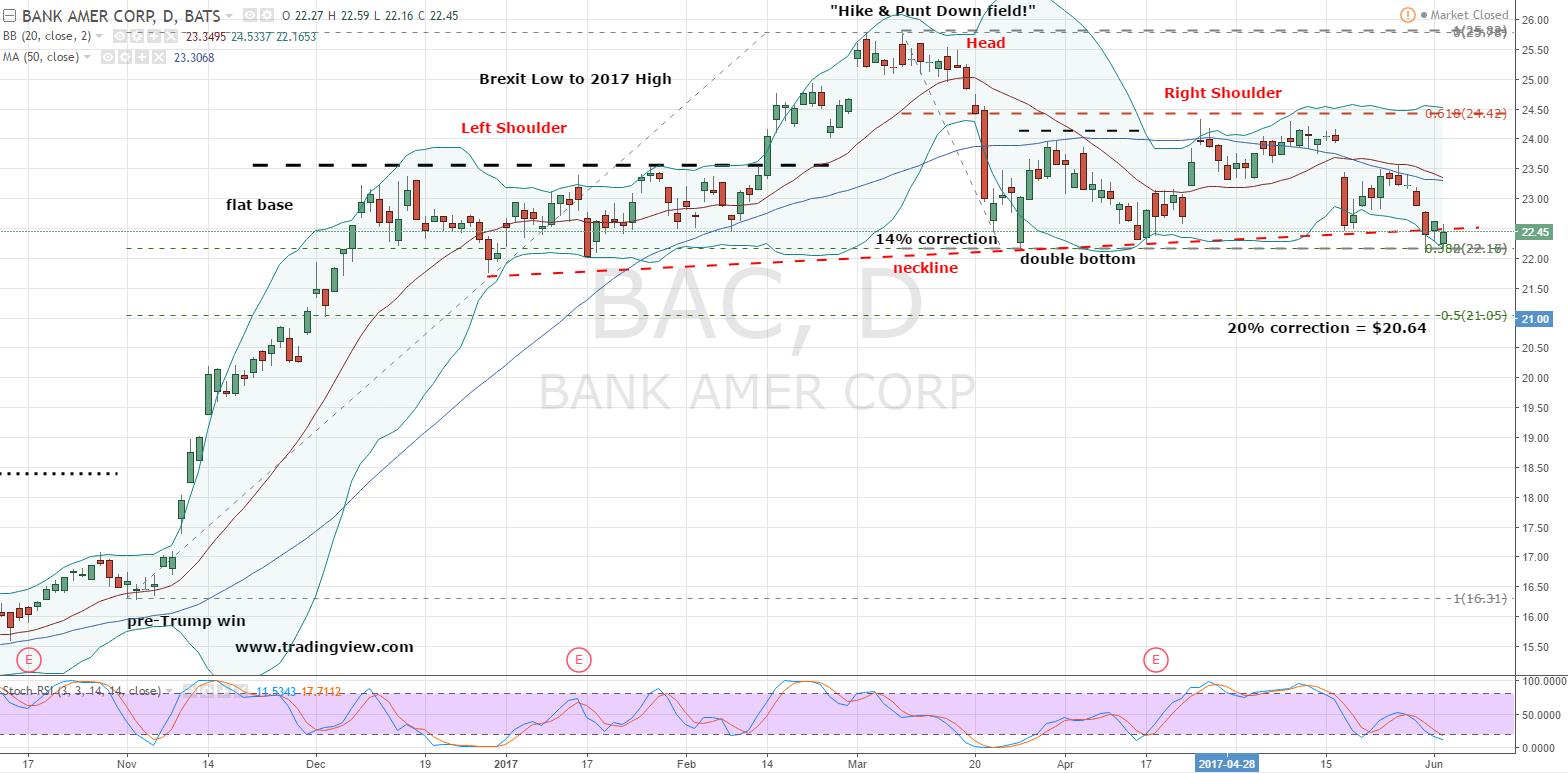 Bac Stock Daily Chart