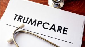 Healthcare Stocks Make a Dumb Move on 'Trumpcare'