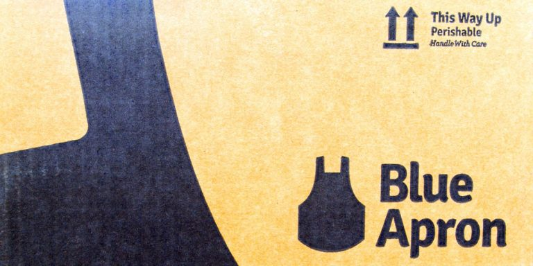 Amazon meal kits? Trademark filing sends Blue Apron's stock to new lows