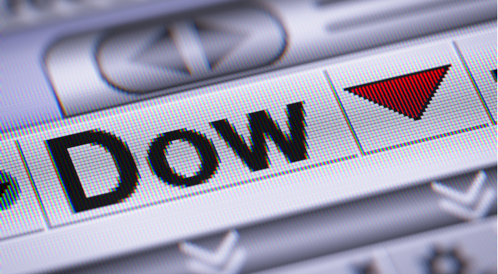 Heres How Far A Vulnerable Dow Jones Industrial Average Could