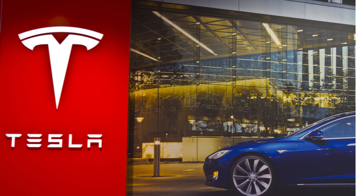 The Tesla (TSLA) Stock Rating Lowered by Vetr
