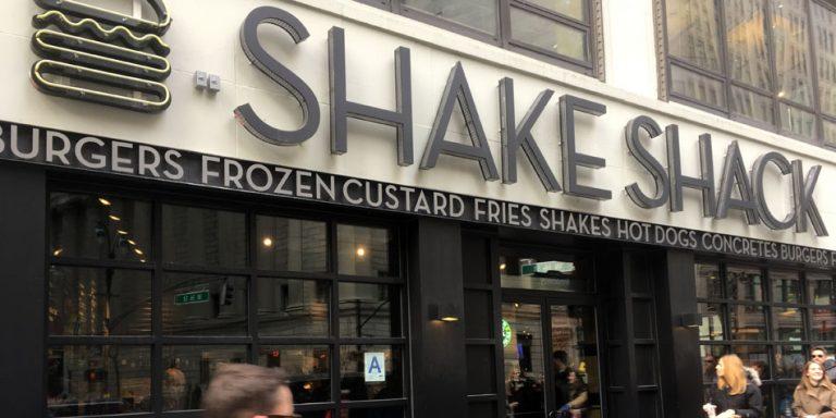 Shake shack stock options