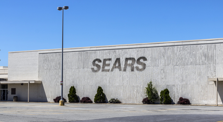 Biggest 2017 Stock Market Failures: Sears (SHLD)