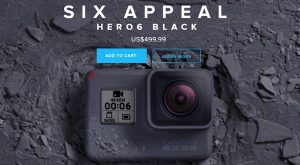 GoPro Inc Holds Event, Confirms Hero 6 Black