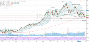 JD Stock Daily Price Chart