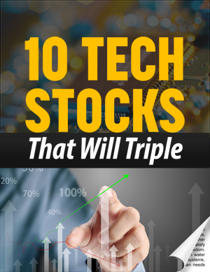 Image of 10 Tech Stocks That Will Triple