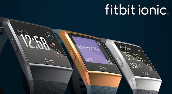 Holiday Gift Guide 2017 (Best Gifts Under $500): Fitbit Ionic