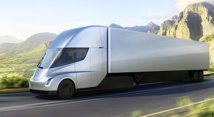 UPS orders 125 Tesla semi trucks