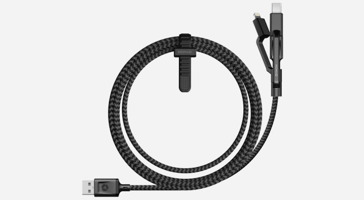 Holiday Gift Guide 2017 (Best Gifts Under $50): Nomad Universal Cable
