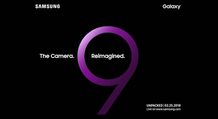 Samsung Galaxy S9 to be unveiled on 25 February